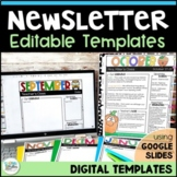 Newsletters for the Year! - 44 Seasonal Themed Newsletter