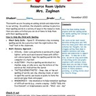 FREE Newsletters from the Special Education Resource Room