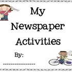 Newspaper Activities Packet