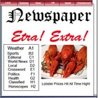 Newspaper - Writing a News Article Smartboard Lesson 25 Slides