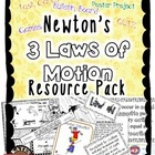 Newton&#039;s Three Laws Games Resource Pack