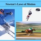 Newton&#039;s Three Laws of Motion Power Point Presentation 