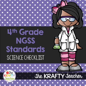 Next Generation Science Standards Checklist 4th Grade
