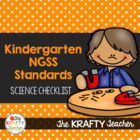 Next Generation Science Standards Kindergarten