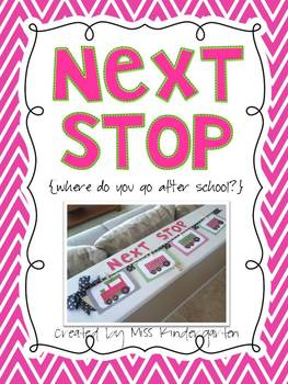 Next Stop {Where Do You Go After School?}