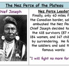Nez Perce and Chief Joseph