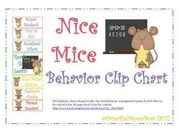 Nice Mice Behavior Clip Chart