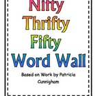 Nifty Fifty Word Wall