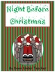 Night Before Christmas Fry&#039;s Sight Word Phrases board game