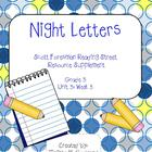 Night Letters : Reading Street : Grade 3