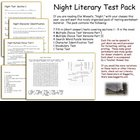 Night Literary Test Pack  Wiesel