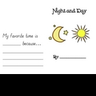 Night and Day Science Writing Book