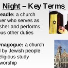 Night by Elie Wiesel - Vocabulary and Key Terms PowerPoint