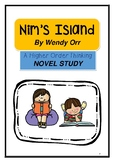 Nim's Island by Wendy Orr - Higher Order Thinking Novel Study