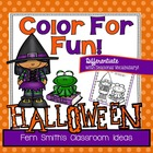 Nine Halloween Addition Center Games By Fern Smith