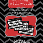 Ninja e (teaching long vowels with ending e - vce)