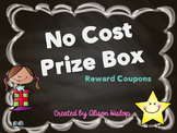No Cost Prize Box - Reward Coupons