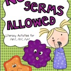No Germs Allowed! A literacy activity for /er/ /ir/ /ur/