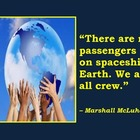 No Passengers on Spaceship Earth: Poster