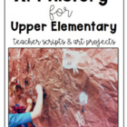 No Prep Art History for Grades 4 to 8 (Top Seller!)
