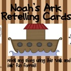 Noah&#039;s Ark Retelling Cards for Walk and Talk
