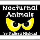 Nocturnal Animals ~ Bulletin Board, Game and worksheets