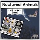 Nocturnal Animals Make a Book