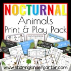 Nocturnal and Diurnal Animals {Print & Play Pack}