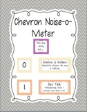 Noise-o-meter: Noise Level in the Classroom (Chevron)