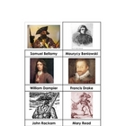 Nomenclature Cards - Pirates - Famous Pirates