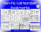 Non-Fic Call Number Bookmarks