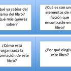 Non-Fiction Buddy Reading Prompt Cards (Spanish)
