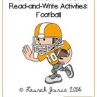Non-Fiction Common Core Read-and-Write Activities: Footbal