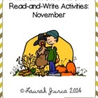 Non-Fiction Common Core Read-and-Write Activities: November