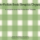 Non-Fiction Graphic Organizer for Non-Fiction Books