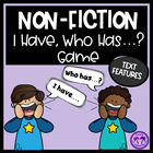 Non Fiction I Have, Who Has? Game