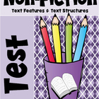 Non Fiction Test (Text Features and Text Structures)