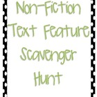 Non-Fiction Text Feature Checklist/Scavanger Hunt