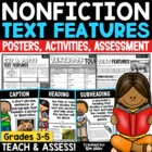 Non-Fiction Text Features - *COLORFUL* Posters & Booklet f