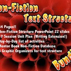 Non Fiction Text Structure BUNDLE  - Correlates to Common Core