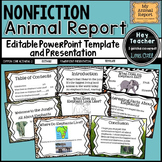 Nonfiction Writing: All About Animal Report [PowerPoint an