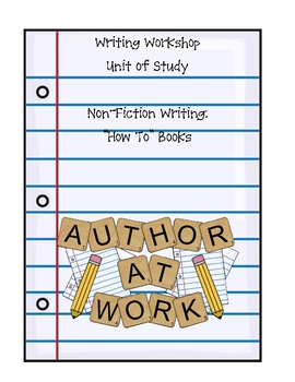 "Non-Fiction Writing: ""How To"" Books"