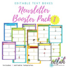 Non-Holiday Newsletter Template Mega Pack