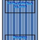 Non fiction Book template unlined