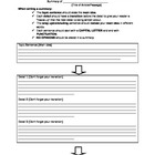 Non-fiction Summarizing Graphic Organizer