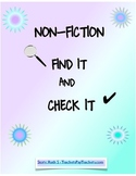 NonFiction Find It and Check It