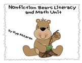 Nonfiction Bears Literacy and Math Unit