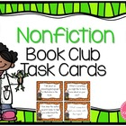 Nonfiction Book Club Task Cards