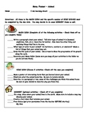 Nonfiction Book Report Menus