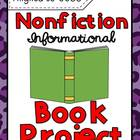 Nonfiction Book Report Project (Aligned to CCSS)